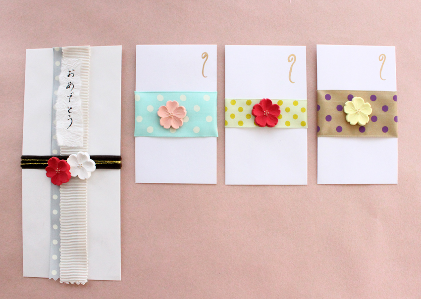 Wedding Gift Ideas For Japanese : Traditional Japanese Gift Envelope DECO Clay Craft Academy