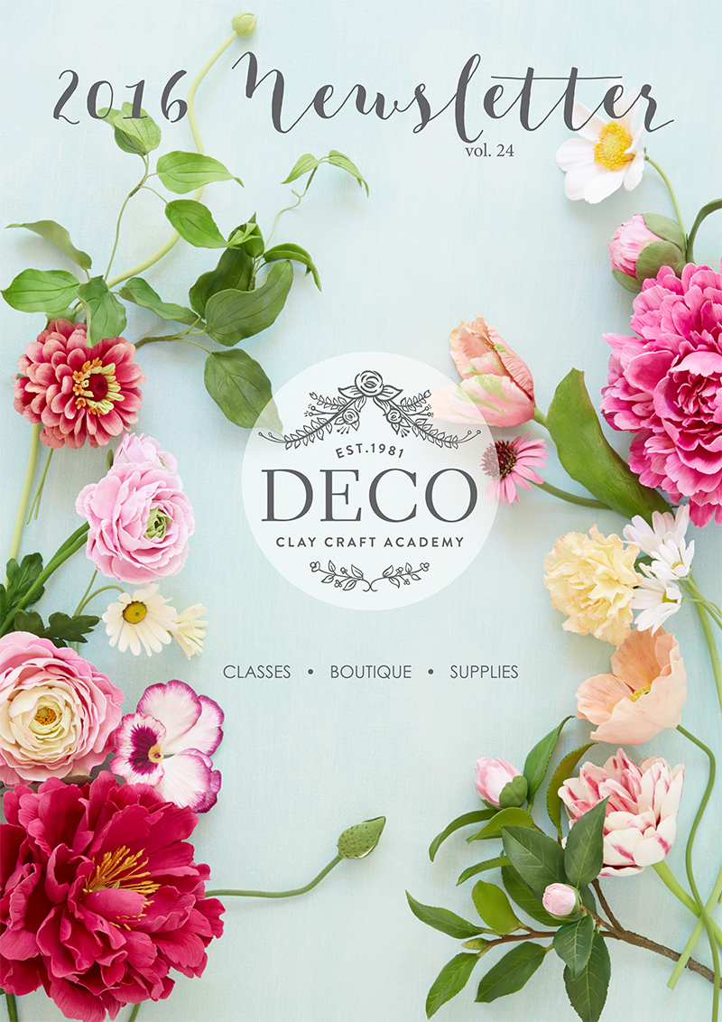 2016 deco newsletter deco clay craft academy
