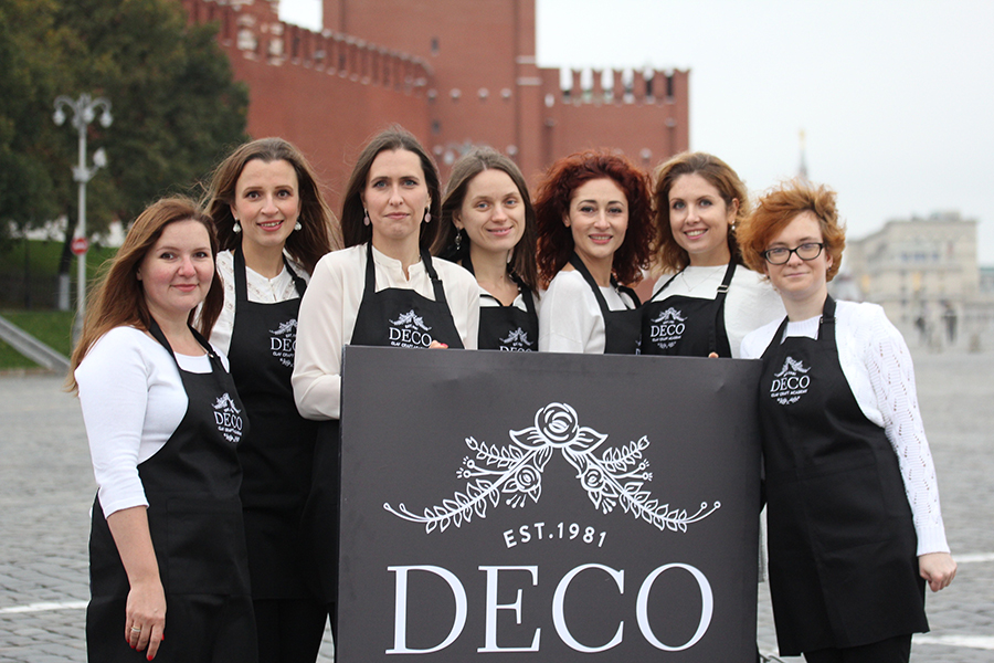 Welcome Team DECO Russia!